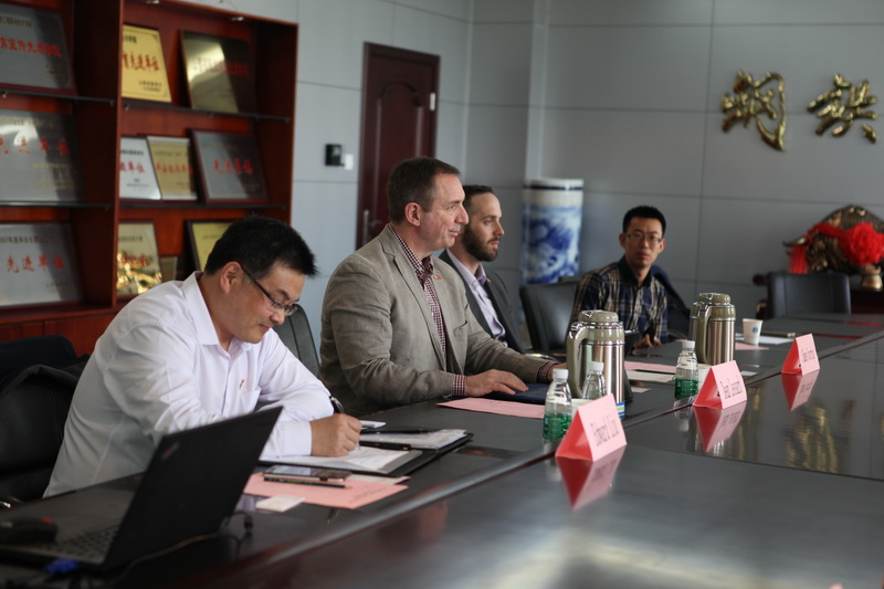 Cooperative Educational Discussion Between Northern College And Our College Were Held Shanxi Engineering Vocational College